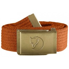 Canvas Brass Belt 3 cm (Autumn Leaf)