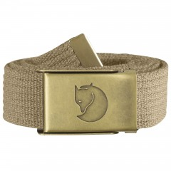 Canvas Brass Belt 3 cm (Sand)