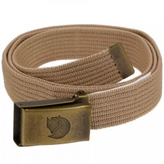 Canvas Brass Belt 4 cm (Fog)