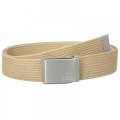 Canvas Belt (Deep Red)