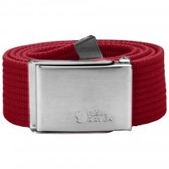 Canvas Belt (Deep Red)