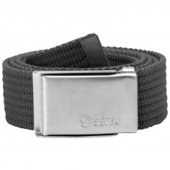 Merano Canvas Belt (Dark Grey)