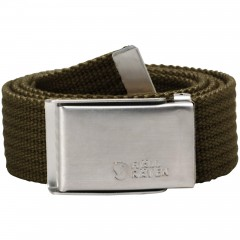 Merano Canvas Belt (Dark Olive)