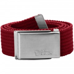 Merano Canvas Belt (Deep Red)