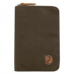 Passport Wallet (Dark Olive)