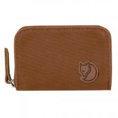 Zip Card Holder (Chestnut)
