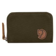 Zip Card Holder (Dark Olive)