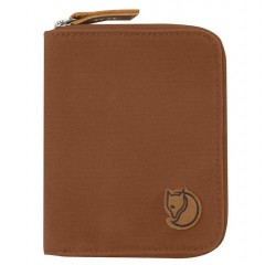 Zip Wallet (Chestnut)