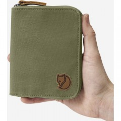 Zip Wallet (Dark Olive)
