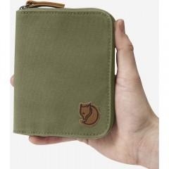 Zip Wallet (Dark Olive)